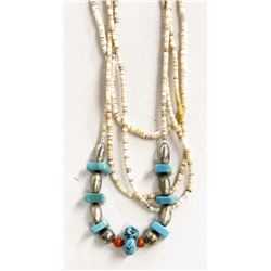 Navajo Heishi Turquoise Necklace
