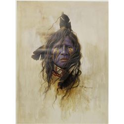 ''Warrior From the Mountains'' Print by Mark Rohrig