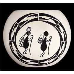 Los Cisneros Ceramic Pottery Vase