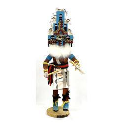 Navajo Hemis Kachina by Angeline Largo