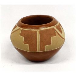 Vintage Native American San Juan Pottery Bowl