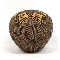 Acoma Pottery Seed Jar by Priscilla Jim
