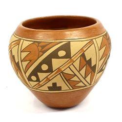 Vintage Jemez Pottery Jar, Mary E. Toya 1934-1990