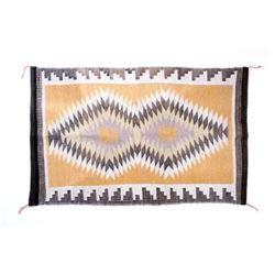 Navajo Crystal Eye Dazzler Churro Wool Rug