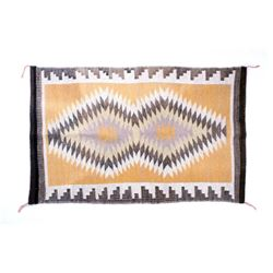 Navajo Crystal Eye Dazzler Churro Wool Rug
