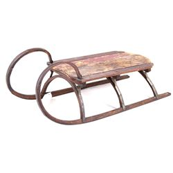 19th C. American Folk Art Sleigh