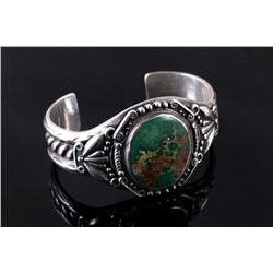Navajo Old Pawn Kings Manassa Turquoise Cuff