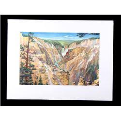 Carl Tolpo Yellowstone Park c. 1949 Litho's (25)
