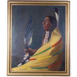 Kathryn W. Leighton (1876-1952) Original Oil