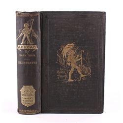 "Mark Twain ""A Tramp Abroad"" First Edition"
