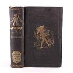 "Mark Twain ""A Tramp Abroad"" First Edition"