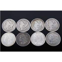 1880-1899 Morgan Silver Dollar Collection