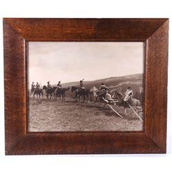 Original 1912 Roland W Reed Piegan, MT Photograph