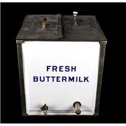 1800's Fresh Buttermilk Dispenser and Refrigerator