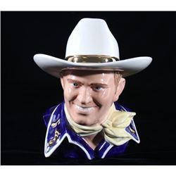 Gene Autry The Singing Cowboy Cookie Jar c. 1995