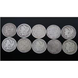 1887-1899 Morgan Silver Dollar Collection