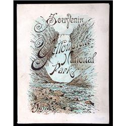 RARE 1889 Haynes Yellowstone Souvenir Album