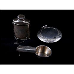 Collection of Stamped Victorian Sterling Silver