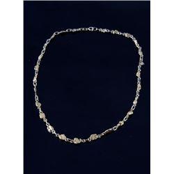 Victorian Alaskan Gold Nugget Necklace c. 1880