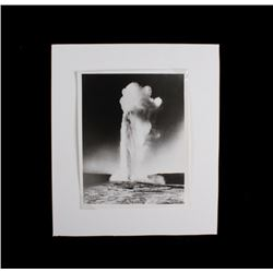 Original Early Haynes Silver Gelatin Photograph