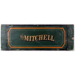 Mitchell Wooden Wagon Sideboard Sign