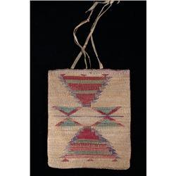 Nez Perce Corn Husk Bag 1880-1890