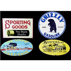 Gasoline & Sporting Good Replica Signs