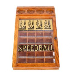 Early 1900's Speedball Pen Tip Nib Display Case