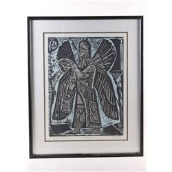 1977 Guardian Spirit Proof Print by Irving Amen