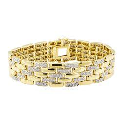 5.00 ctw Diamond Bracelet - 18KT Yellow Gold