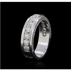 18KT White Gold 0.94 ctw Diamond Ring