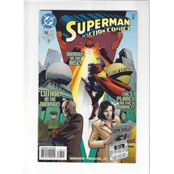 Superman In Action Comics Issue #748 by DC Comics