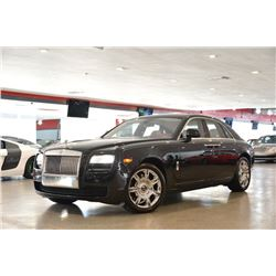 2013 Black Rolls-Royce Ghost Ghost Sedan