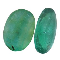 4.95 ctw Oval Mixed Emerald Parcel