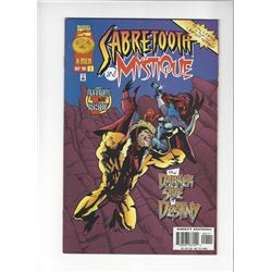 Sabertooth and Mystique Issue #1 by Marvel Comics