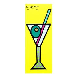 Yellow Martini by Britto, Romero