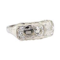 0.67 ctw Diamond Ring - Platinum