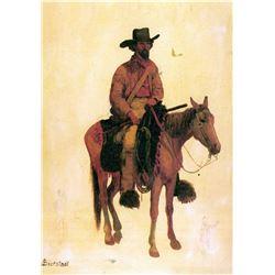 Trapper by Albert Bierstadt