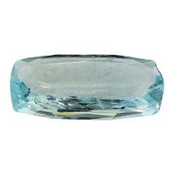 5.72 ct.Natural Cushion Cut Aquamarine