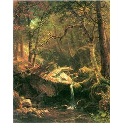 The Mountain by Albert Bierstadt