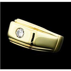 0.25 ctw Diamond Ring - 14KT Yellow Gold