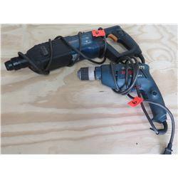 Bosch Bulldog 11224VSR Rotary Hammer & 1005VSR Drill