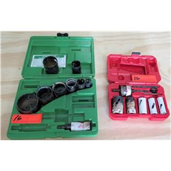 Greenlee 830 Variable Pitch Hole Saw Kit & Hold Kit w/ Case