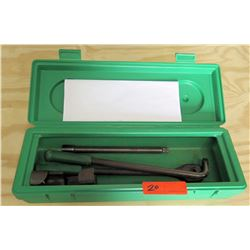 Greenlee 796 Ratchet Cable Bender in Case