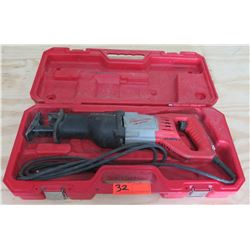 Milwaukee 120V Sawzall Corded Reciprocating Saw in Case