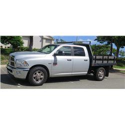 2011 Dodge Ram 2500 HEMI Heavy Duty Truck w/ Flatbed 34,081 miles (Runs, Drives-See Video)