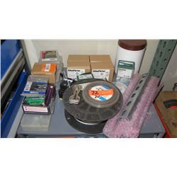 Qty 4 Cases Gladiator Open Type Switch, Dottie FENW141 Fender Washer, Wire, etc