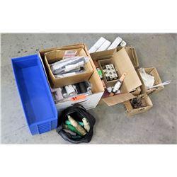 Multiple Burndy Cold Shrink 0.51 Cold Seal Kits & Misc Connectors