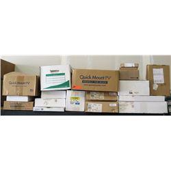 Multiple Cases Quick Mount PV, Flexware 8 Fuse Breaker PV Combiners, etc