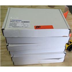 Qty 4 Boxes Socomec 4829 0571 Rogowski 120mm Flexible Current Sensors